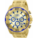 INVICTA PRO DIVER MENS QUARTZ 50MM STAINLESS STEEL CASE GOLD DIAL - MODEL 22320