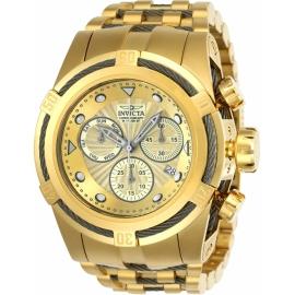 INVICTA BOLT MENS QUARTZ 53MM GOLD, TITANIUM CASE GOLD DIAL - MODEL 23913