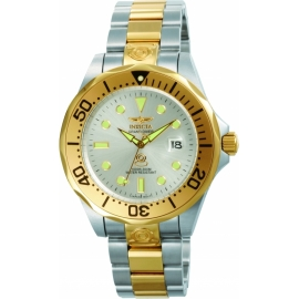INVICTA 3050 PRO DIVER AUTOMATIC WATCH - GOLD, STAINLESS STEEL CASE