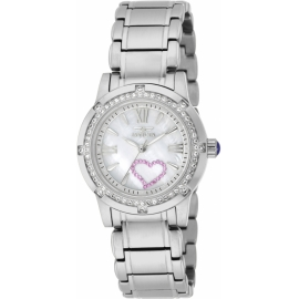 INVICTA MODEL 18604 ANGEL QUARTZ WATCH - STAINLESS STEEL CASE STAINLESS STEEL BAND -