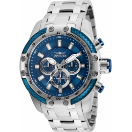 INVICTA  MODEL 25943 SPEEDWAY SCUBA MENS QUARTZ 50MM STAINLESS STEEL CASE BLUE DIAL -