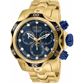 Invicta 25978 Men's Reserve Chronograph Stainless Steel Blue Dial