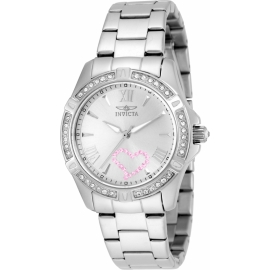 INVICTA MODEL 21416 ANGEL QUARTZ WATCH - STAINLESS STEEL CASE STAINLESS STEEL BAND -