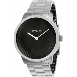 INVICTA MODEL 25173 SPECIALTY MENS QUARTZ 44MM STAINLESS STEEL CASE BLACK DIAL -